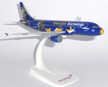 Airbus A320 Eurowings Germany Europa Park Collectors Model Scale 1:200 D-ABDQ E
